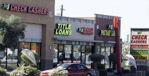 One-time payday loan